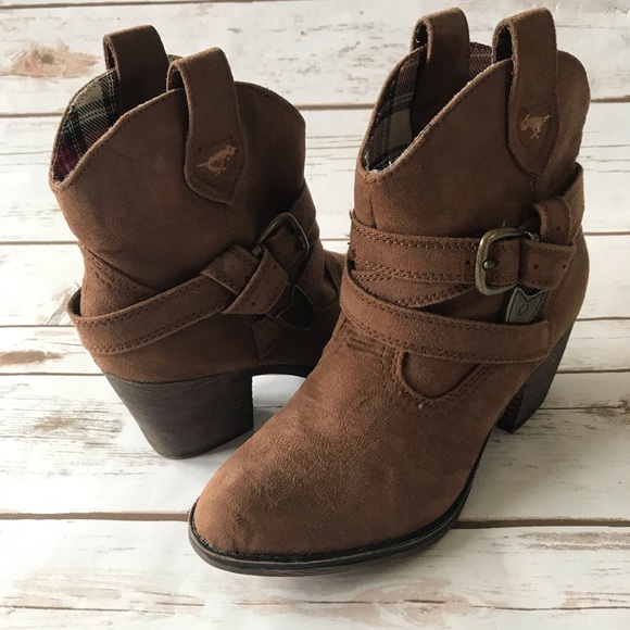 buy online top fashion reasonable price Rocket Dog Shoes | Satire Brown Western Boots | Poshmark